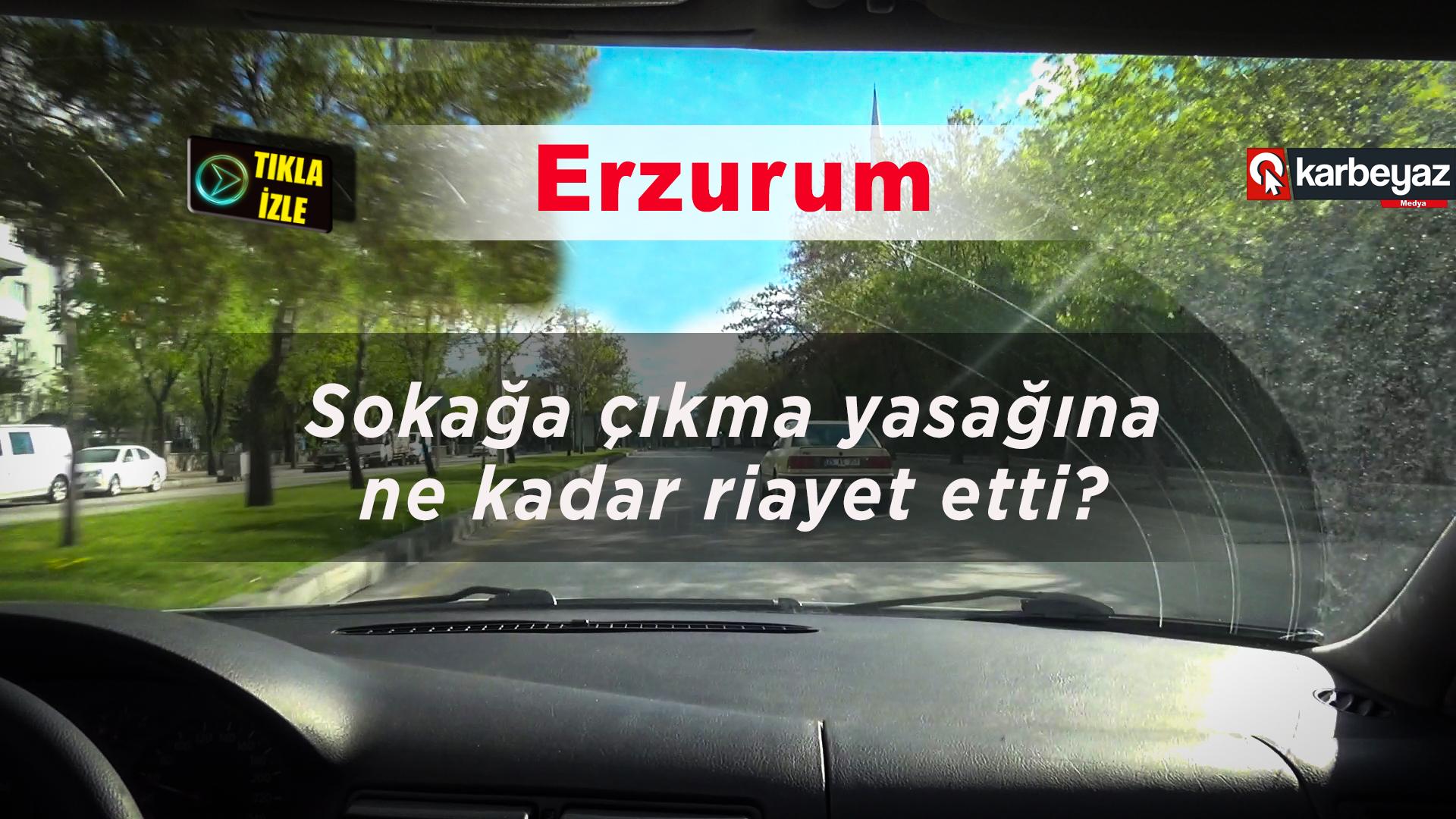 Erzurum Polisi bütün ihbarları değerlendirdi