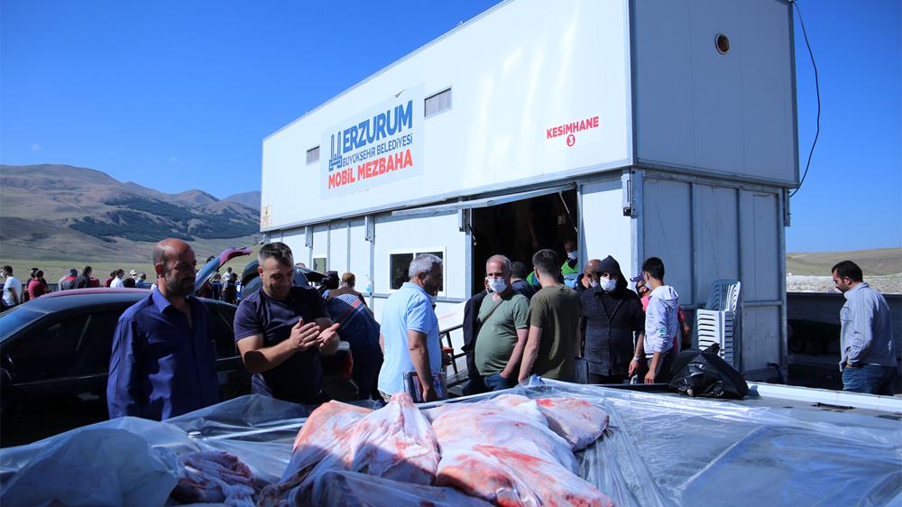 Erzurumlular'dan mobil mezbahalara tam not