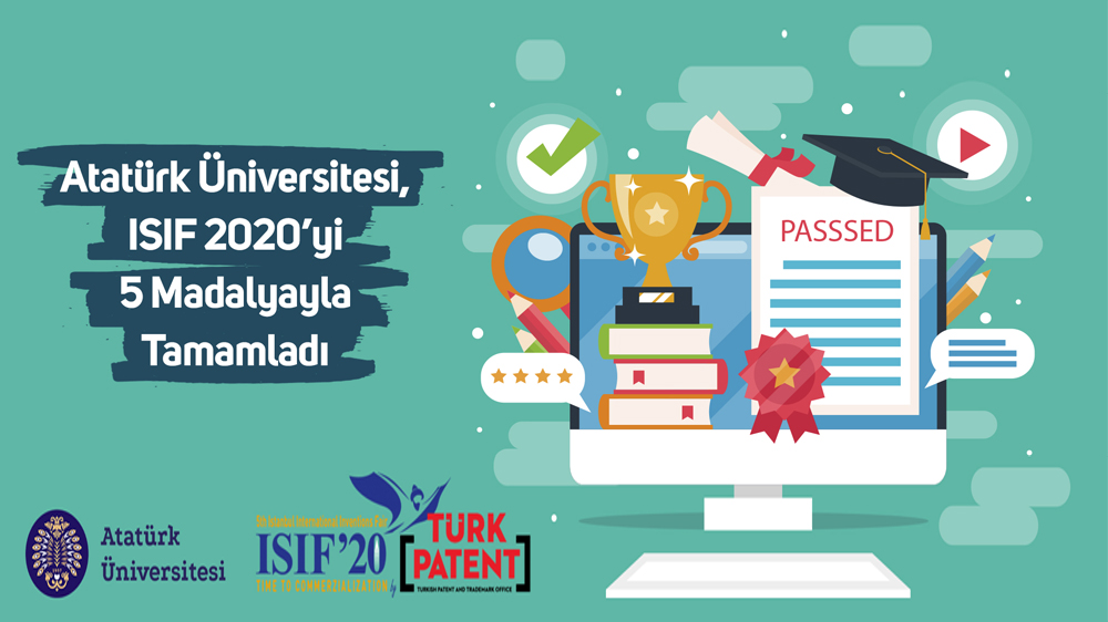 ISIF 2020'yi 5 Madalyayla Tamamladı