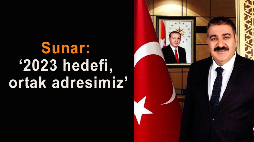 Muhammet Sunar: 'Cumhuriyet aziz değerimiz'