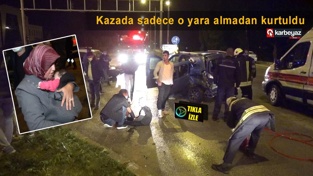 Erzurum'da trafik kazası: 10 yaralı