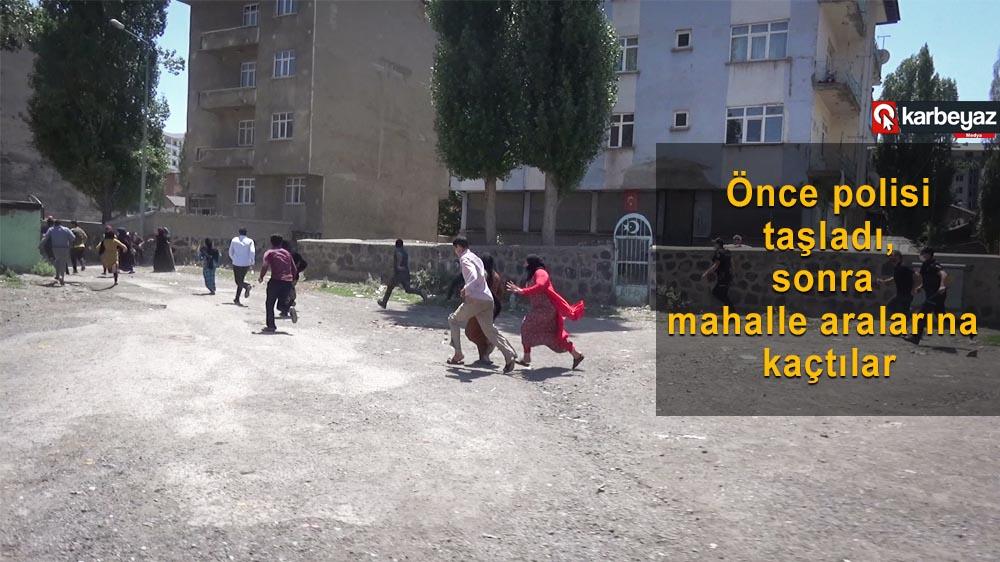 Erzurum'da çıkan kavga meydan muharebesine döndü