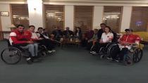 Nene Hatun Spor kulübü ve engelli sporcular buluştu