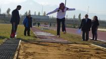 Erzurum'da puanlı atletizm heyecanı