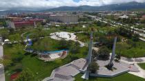 Büyükşehir'den Aziziye Parkı'na özel peyzaj