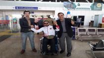 Keleşoğlu, dünya şampiyonasına Seven'i dualarla uğurladı