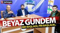 Karbeyaz Medya stüdyolarında gündem Erzurum oldu.