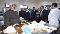 Başkan Demir, Hayvan Hastanesini ziyaret etti