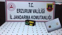 Erzurum Palandöken ilçesinde 150 adet sikke ele geçirildi