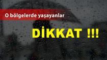 Erzurum'a önemli meteorolojik uyarı !