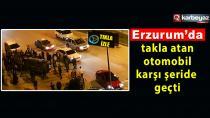 Erzurum'da sahur vakti trafik kazası