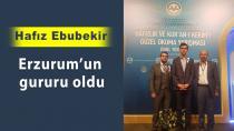 Erzurumlu hafız dünya birincisi oldu