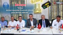 Erkon ve 41 STK'dan Erzurum'a 100. Yıl çıkarması