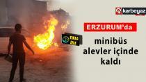 Erzurum'da sarhoşlar yangına neden oldu