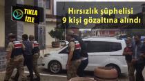Erzurum'da hayvan hırsızları yakalandı
