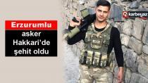 Erzurumlu askerin evine şehit ateşi düştü
