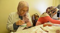 Yakutiye Belediyesi ev hanımlarına nakış öğretecek