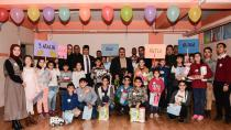 Başkan Sunar'dan ilgi, özel öğrencilerden sevgi