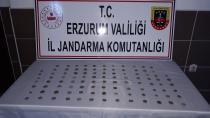 Erzurum'da Bizans dönemine ait sikkeler ele geçirildi