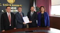 İl Sağlık Müdürlüğü ETÜ ile Protokol imzaladı