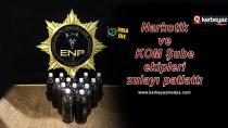 Erzurum Polisi yakıt deposuna uyuşturucu yakaladı