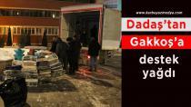 Erzurum'dan deprem bölgesine sevgi seli