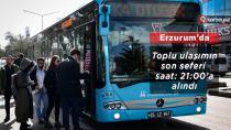 Erzurum'da ulaşımda düzenleme