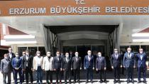Ulaştırma ve Altyapı Bakanı Karaismailoğlu Erzurum'daydı