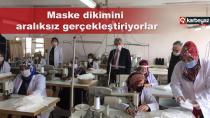 Palandöken Milli Eğitim, okullara 140 bin maske dağıttı