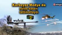TSK ve Azerbaycan Ordusundan nefes kesen kış tatbikatı